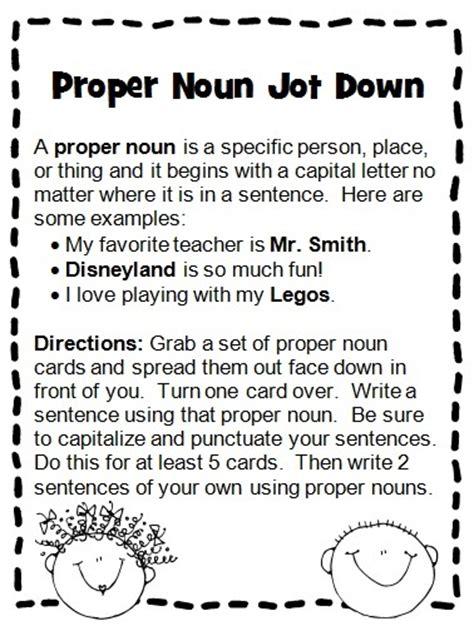 proper nouns worksheets for kindergarten noun worksheets