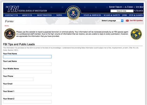 Fbi Search Fbi Tip Line Receives Actionable Tips Daily Fbi