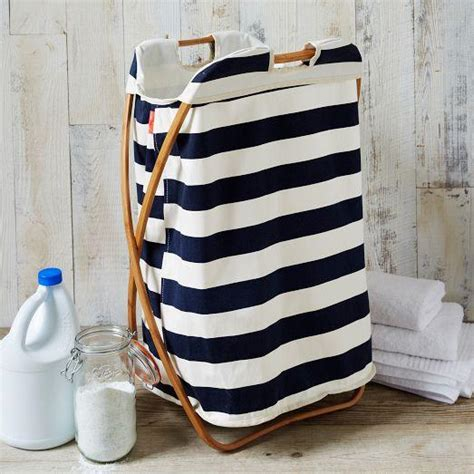 Bamboo Laundry Navy And White Stripe Single Her Navy Laundry