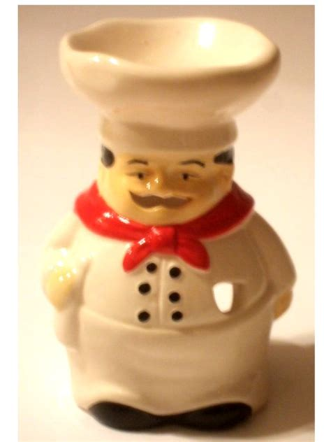 Fat Italian Chef Wax Melt Burner Candle Holder