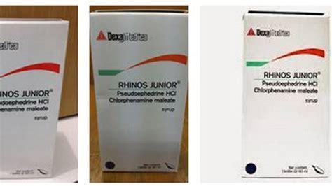 obat flu pilek rhinos junior   dewasa  anak