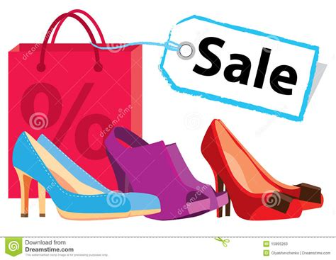 shoe sales shoe sale stock photos image 15895263