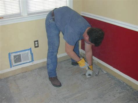 How To Tile A Kitchen Floor Without Removing Cabinets by How To Remove Tile Flooring How Tos Diy