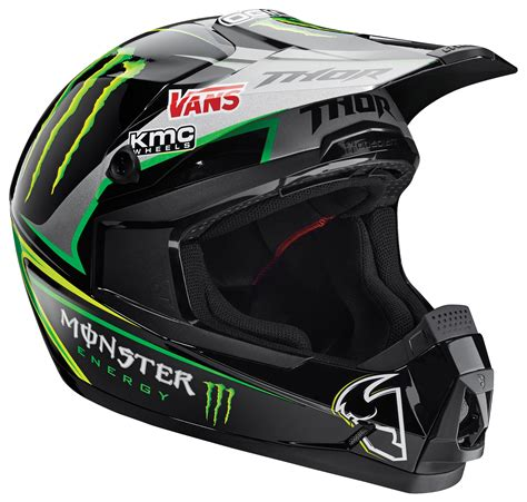 monster motocross helmet thor quadrant pro circuit monster energy helmet revzilla