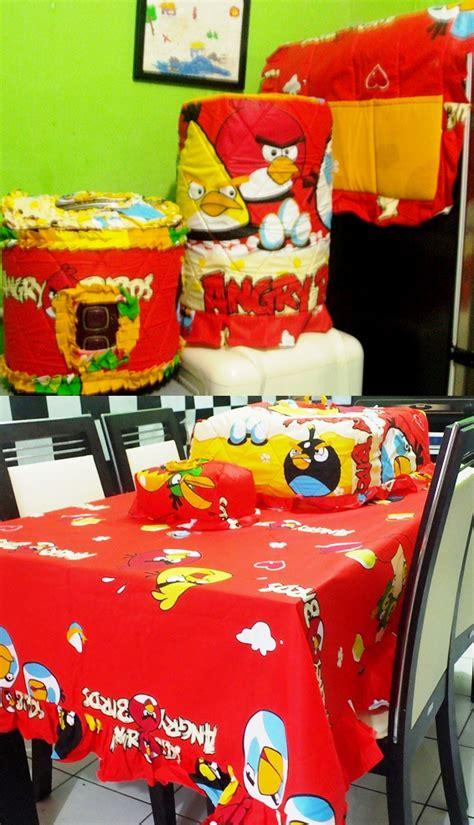 Set Gkm Sofaset Taplak Meja Homeset detail produk homeset angry bird menara merah toko bunda