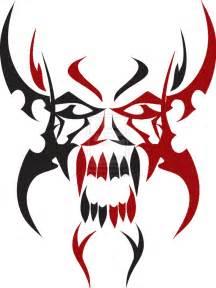 tribal skull design by ds designs on da on deviantart