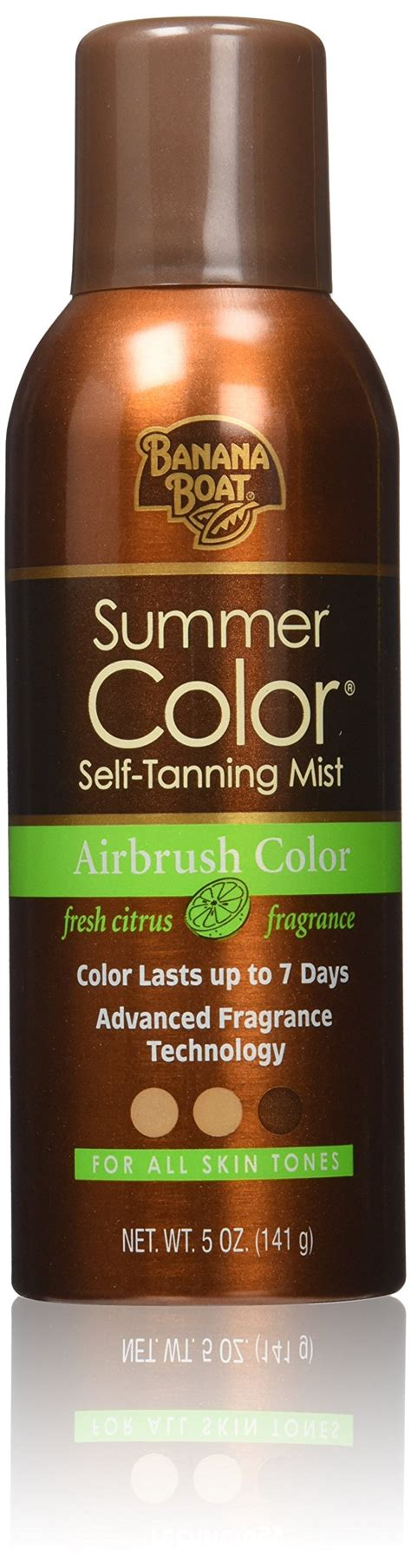 banana boat self tanner medium banana boat summer color self tanning mist 5