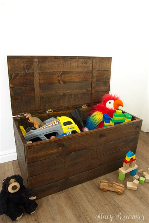 easy  build toy box crate stacy risenmay