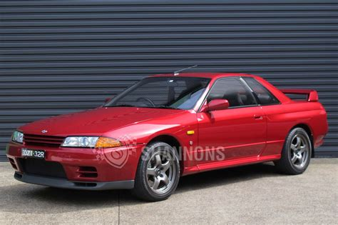 r32 skyline sold nissan skyline r32 gt r coupe 1 of 100 australian
