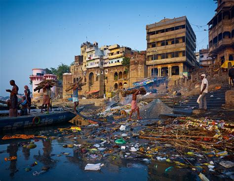 The Ganges River by Talks Pulitzer George Black On Ganges Pollution
