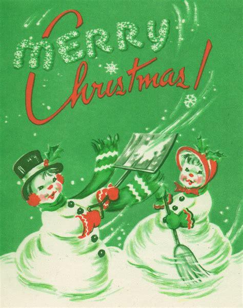 vintage digital stamps merry christmas