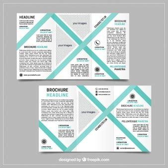 Flyer Vorlage Blau Dokument Abstract Lines Vektoren Fotos Und Psd Dateien Kostenloser