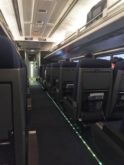 business class seat amtrak rail review amtrak northeast regional business class
