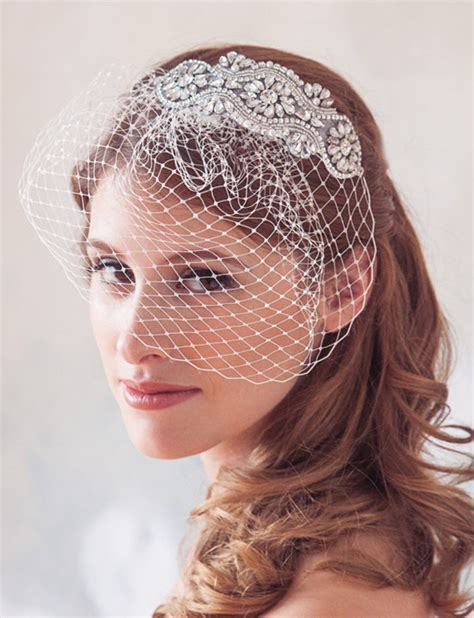 Wedding Hairstyles With Blusher Veil by Glam Bridal Hair Accessories Archives Weddings Romantique