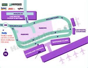 Thrifty Car Rental Return Sydney Airport Lax Terminal Map Rental Car Locations Lax Arrivals