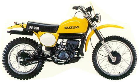 1977 Suzuki Pe 250 Suzuki Pe250 Model History