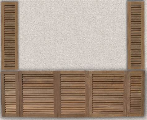 Unfinished Louvered Cabinet Doors Pine Louvered Cabinet Doors Cabinets Matttroy