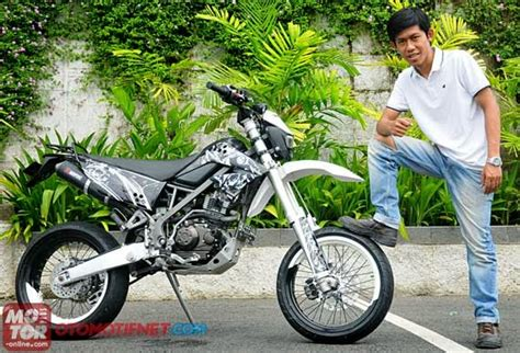 Modifikasi Supra X 125 Lingkar by Supermoto