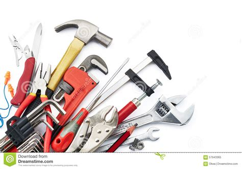 work tools stock image image of allen white cl