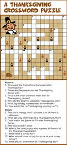 printable thanksgiving crossword puzzles gallery for gt thanksgiving crossword printable