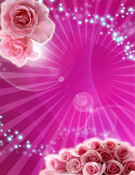 imagenes de flores para xv años tarjeta de invitaci 243 n de 15 a 241 os fucsia con rosas rosa