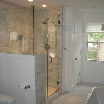Home Designer Suite Pony Wall Half Wall Shower Design Home Splish Splash