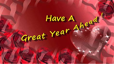 have a great year ahead happy new year ecard youtube
