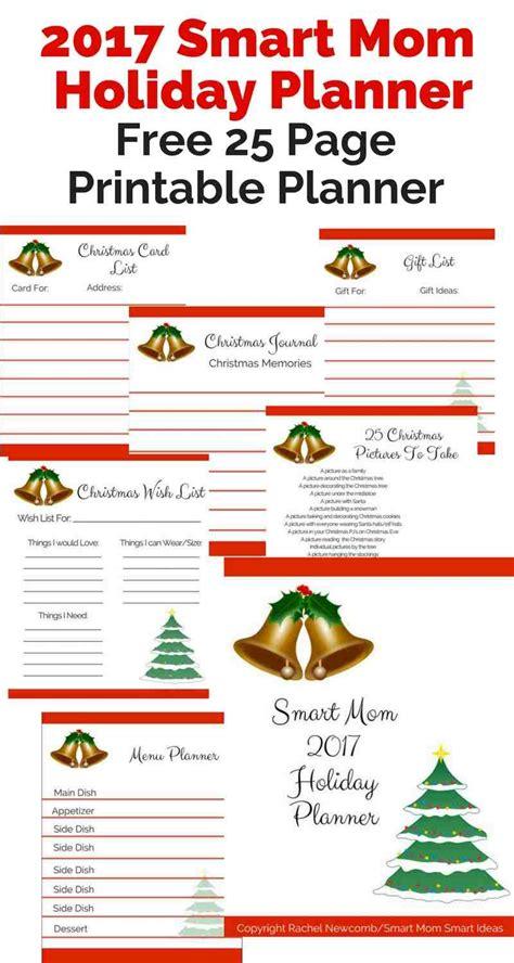 free printable christmas planner set stay organized this free 2017 smart mom holiday planner free homeschool deals