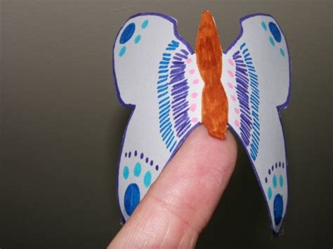 How To Make A Paper Butterfly That Flies - balancing butterfly craft for craft n home
