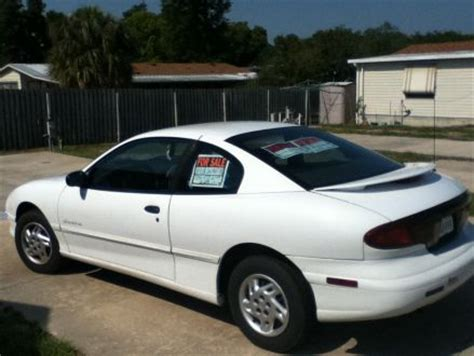 how things work cars 1998 pontiac sunfire parental controls good condition white 1998 pontiac sunfire in orange city florida