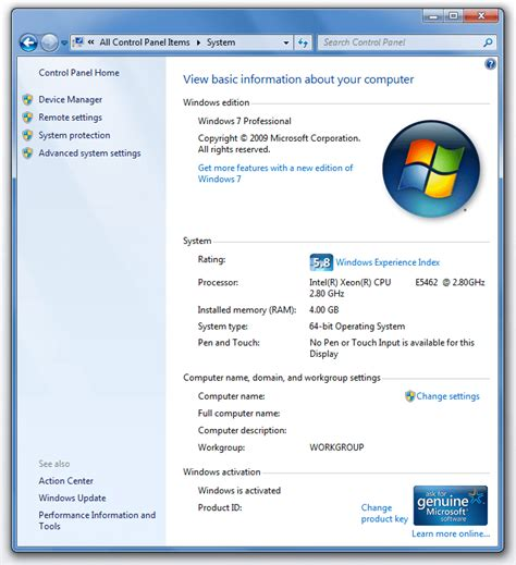 start your computer from a windows 7 installation disc or how do i view my system properties in windows 7