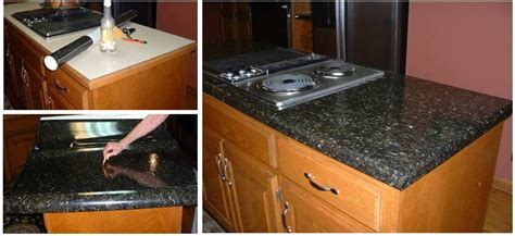 Peel And Stick Granite Countertops by Review Our Ez Faux Granite Update Your Counters To