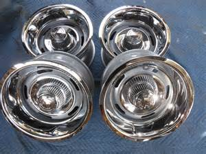 6 Lug Chevy Truck Rally Wheels For Sale New Set Of 15 X 8 Style Rally Wheels 6 Lug Chevy