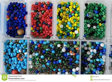 Handmade Things With Waste Material - materials to produce handmade jewelry stock images image
