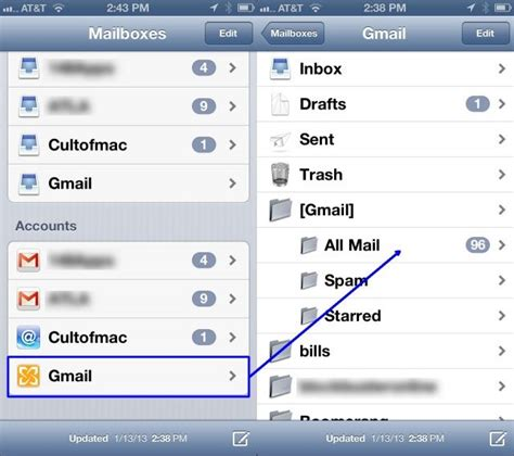 yahoo email going to trash iphone get your archived mail back to the inbox on your iphone