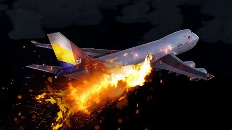 boeing   fire explodes mid air asiana airlines