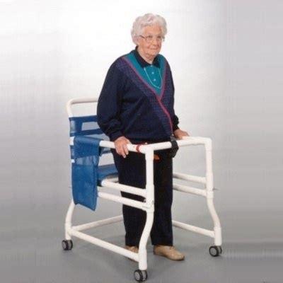 Merry Walker Chair by Anthros 16 Quot Pvc Ambulator Walker Amblatory Aid Gait