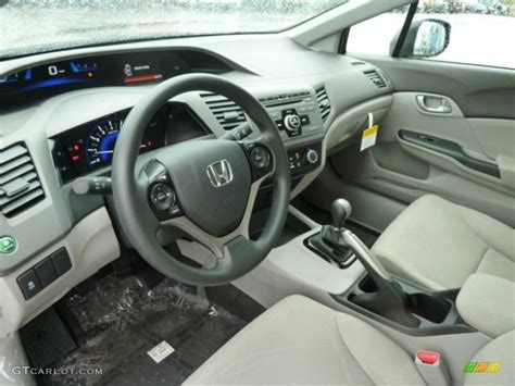 gray interior 2012 honda civic lx sedan photo 59775005