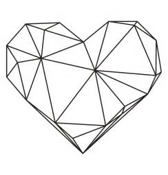 Geometric Coloring Page Free Printable  Valentineblognet sketch template