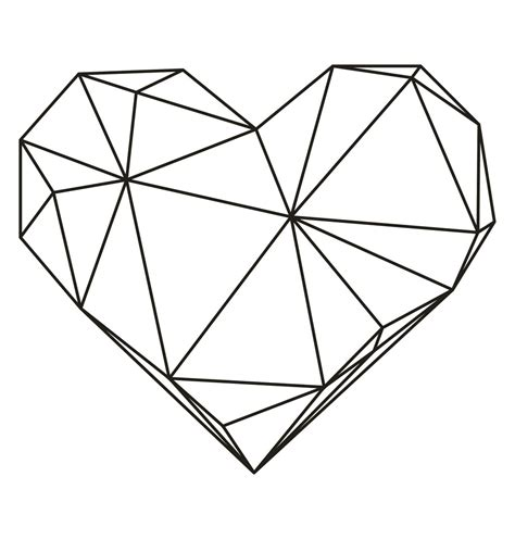 real geometric coloring pages search results for heart shape printable calendar 2015