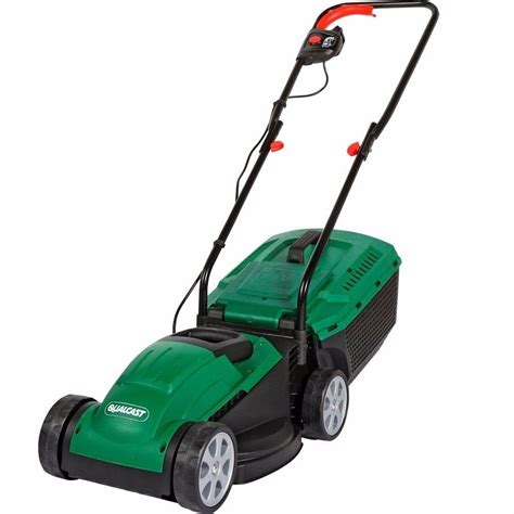 qualcast motor mowers qualcast 1200w electric rotary lawn mower 163 34 00