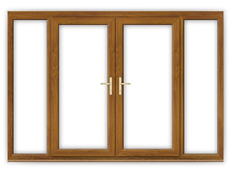 golden oak doors 6ft golden oak upvc french doors with wide panels