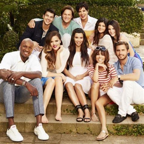 the kardashians gossip kardashian family photo where s kanye west the