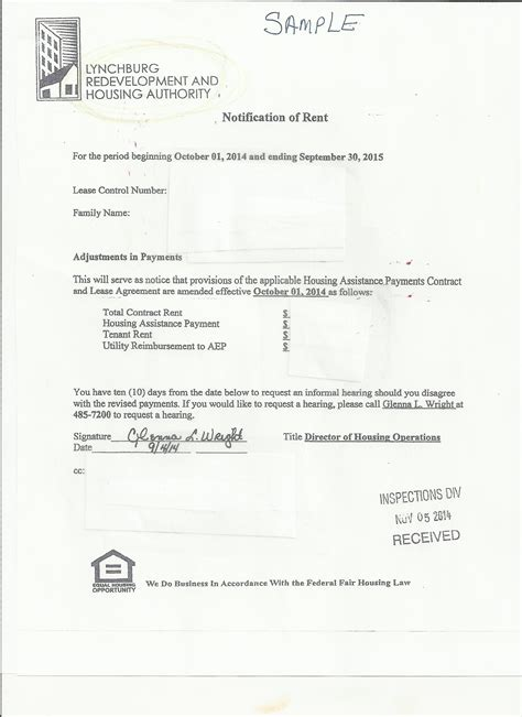 Zoning Verification Letter City Of Lynchburg Rental Inspection Program