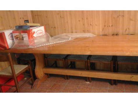 vendo tavolo panca e tavolo allungabile per taverna in posot class