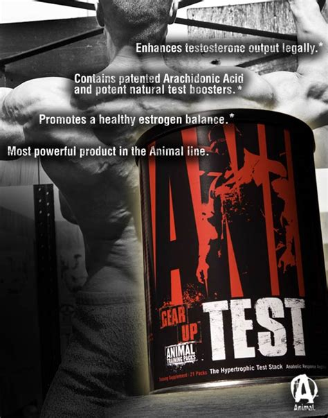 animal test 2 x universal nutrition animal test 42 day cycle pak