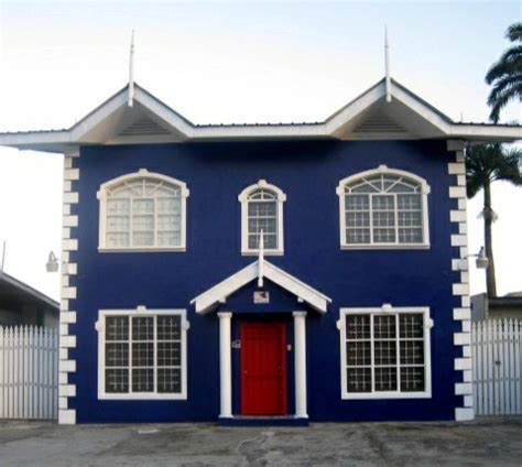 blue house with red door blue house and red door homeville the future edition pinterest