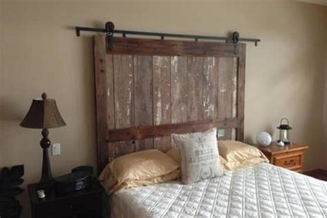 barn headboard barn door headboard barn door headboard with lights6 diy