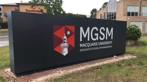 Mgsm Mba Requirements macquarie graduate school of management falls the 2018