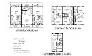 the clearwater triplex prefabricated home plans winton